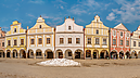 Zachariáš of Hradec Square, Historic Centre, Telč, Czech Republic