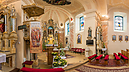 panorama Church of St. Peter and Paul - Interior I., Záhorská Bystrica