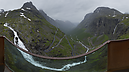 Viewing Platform above Serpentines, Trolls' Path (Trollstigen), Åndalsnes, Norway