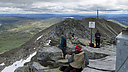 Summit, Gaustatoppen, Rjukan, Norway
