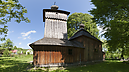Wooden Church from Southeast, Church of Protection of the Virgin Mary, Jedlinka, Szlovákia