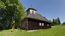 Wooden Church, Greek Catholic Wooden Church of St. Paraskeva, Vyšná Polianka, Szlovákia