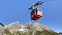 Cableway to Lomnica Peak, High Tatras, Vysoké Tatry, Словакия
