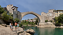On the Neretva River Bank, Historic City of Mostar, Mostar, Bosnia and Herzegovina