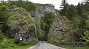 Entrance to the Gorge from Záskalie, Gorge of Manín, Záskalie, Slovakia