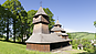 Nad kostolom, Wooden Church of St. Cosmas and Damian, Lukov
