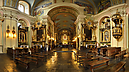panorama Main Nave, Basilica of St. Mary