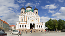 St. Alexander Nevsky Cathedral and House of Parliament, Old City, Tallinn, Estonia