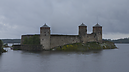 From Bridge, Burg Olavinlinna, Savonlinna, Finnland