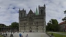 panorama Nidaros Cathedral and Archbishop's Palace, Trondheim
