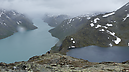 Besseggen, Jotunheimen National Park, Lom, Norway