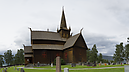 panorama Stave Church I, Lom