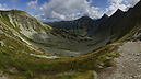 panorama Smutná Saddle, West Tatras