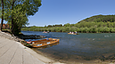 panorama Nástupná stanica - Penzión Pltník, Wooden Rafts on the Dunajec River