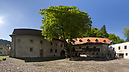 panorama Main Court, Carthusian Monastery