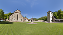panorama Outer Complex and Well, Carthusian Monastery
