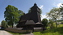 Wooden Church, Church of St. Francis of Assisi, Hervartov, Szlovákia