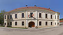 panorama Late Baroque Mansion, Horné Lefantovce