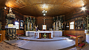 panorama Church Interior, Church of the Immaculate Conception