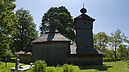 Wooden Church from Cemetery, Church of Protection of the Virgin Mary, Jedlinka, Szlovákia