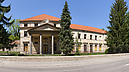 Frontage, Classicistic Mansion, Solčany, Slowakei