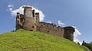 panorama By the Outbuilding, Zborov Castle