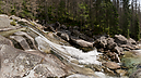 panorama Dlhý Waterfall I, Studený Creek Waterfalls