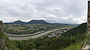 panorama View to the Váh River Valley, Château de Považie