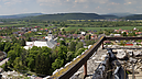 View to Beckov, Beckov Castle (after Reconstruction in 2012), Beckov, Slovakia