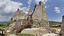 panorama Upper Castle Entrance, Beckov Castle (after Reconstruction in 2012)