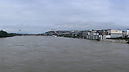 panorama From the Apollo Bridge, Flooded Danube River 2013